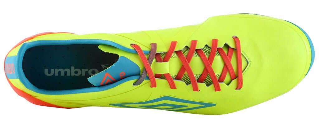 Umbro-Velocita-Pro-Yellow-Blue-Coral-4